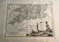 1778 Map  of England & Wales by Antonio Zatta