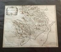 Original Map of Monmouthshire by Robert Morden c.1720
