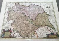 1640s Hand Coloured Map of Yorkshire by Jan Jannson (4 of 5)