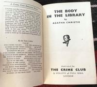 1942 the Body in the Library by Agatha Christie, Rare 1st Edition + Original Dust Jacket (2 of 8)