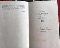 I Claudius by Robert Graves, Rare Signed Limited Edition 100 Copies (3 of 9)