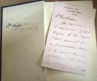 History of the Lodge of Probity by Herbert Crossley & Letter From Author, 1888 (2 of 7)