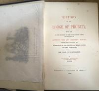 History of the Lodge of Probity by Herbert Crossley & Letter From Author, 1888 (4 of 7)