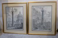 Pair of Grand Tour Engravings