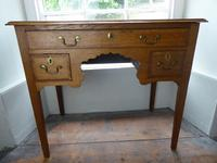 Small English 18th Century Lowboy Side Table