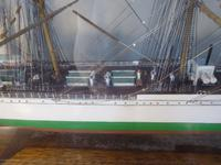 Large Cased Four Mast Ship (2 of 7)