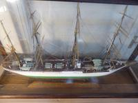 Large Cased Four Mast Ship (3 of 7)