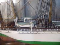 Large Cased Four Mast Ship (5 of 7)
