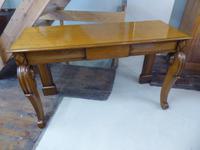 19th Century Scottish Oak Serving Table (5 of 5)