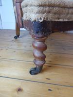 19th Century Walnut Armchair (2 of 8)