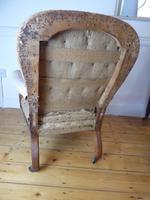 19th Century Walnut Armchair (7 of 8)