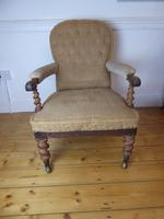 19th Century Walnut Armchair (8 of 8)