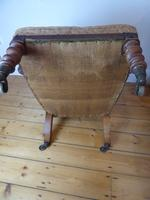 19th Century Walnut Armchair (6 of 8)