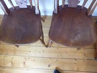 Set of 4 19th Century Kitchen Chairs (3 of 8)