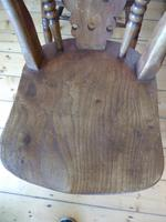 Set of 4 19th Century Kitchen Chairs (6 of 8)