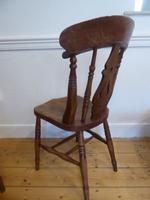 Set of 4 19th Century Kitchen Chairs (8 of 8)