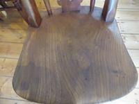 Set of 4 19th Century Kitchen Chairs (5 of 8)