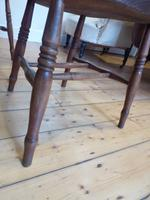 Set of 4 19th Century Kitchen Chairs (4 of 8)
