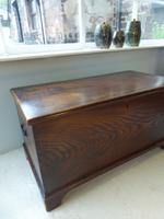 19th Century Elm Blanket Box (7 of 7)