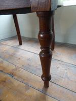 19th Century Leather Desk Chair (3 of 5)