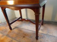 Fine Quality Inlaid Music Cabinet (5 of 8)