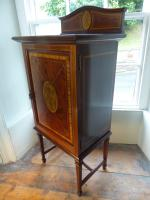Fine Quality Inlaid Music Cabinet (8 of 8)