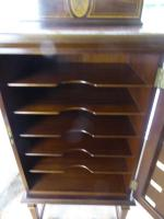 Fine Quality Inlaid Music Cabinet (2 of 8)