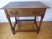 18th Century Oak Side Table (8 of 8)