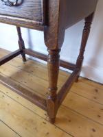 18th Century Oak Side Table (6 of 8)