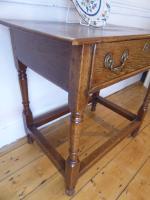 18th Century Oak Side Table (2 of 8)
