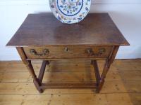 18th Century Oak Side Table (7 of 8)