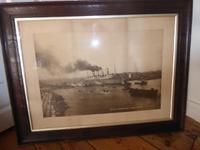 Photograph Mauretania Leaving Newcastle-Upon-Tyne (6 of 6)