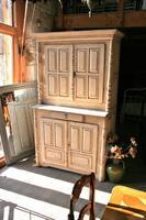 Continental Original Paint Kitchen Cupboard / Dresser c.1890