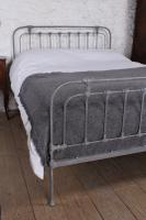 Fashionable Simple English King Size Iron Bed (3 of 7)