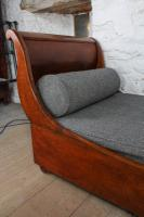 Very Attractive French Mahogany Day Bed (4 of 5)