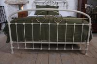 Most Attractive French Iron & Brass King Size Bed (8 of 10)