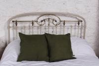 Most Attractive French Iron & Brass King Size Bed (7 of 10)