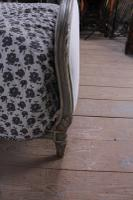 Absolutely Lovely French King Size Upholstered Bed (5 of 10)
