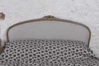 Absolutely Lovely French King Size Upholstered Bed (8 of 10)