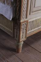 Spectacular Empire Size Original French Painted Bed (6 of 11)