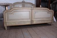 Spectacular Empire Size Original French Painted Bed (9 of 11)