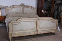 Spectacular Empire Size Original French Painted Bed (10 of 11)
