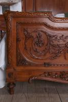 The Most Beautiful French Carved Solid Walnut Bedroom Suite with King Size Bed (3 of 17)