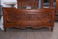 The Most Beautiful French Carved Solid Walnut Bedroom Suite with King Size Bed (2 of 17)