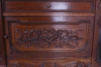 The Most Beautiful French Carved Solid Walnut Bedroom Suite with King Size Bed (15 of 17)