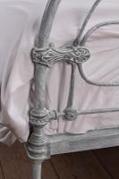 Early Victorian All Iron King Size Bedstead (6 of 10)