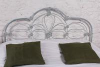 Early Victorian All Iron King Size Bedstead (3 of 10)