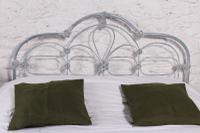 Early Victorian All Iron King Size Bedstead (8 of 10)