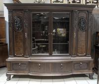 Heavily Carved Bookcase