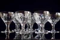 11 Thomas Webb Royal Yacht Champagne Glasses